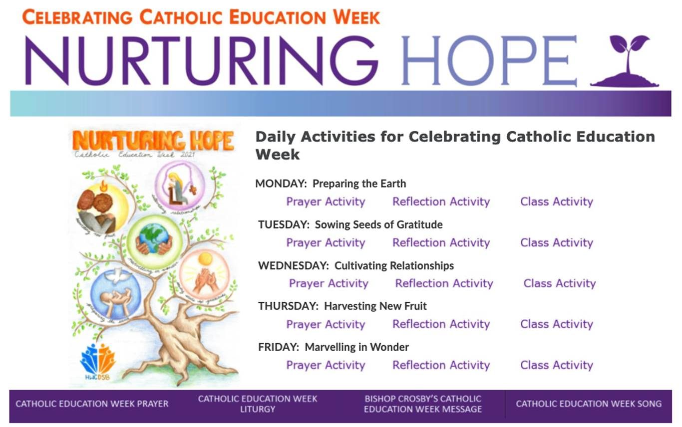 Catholic community invited to celebrate Catholic Education Week via Online Sacred Space