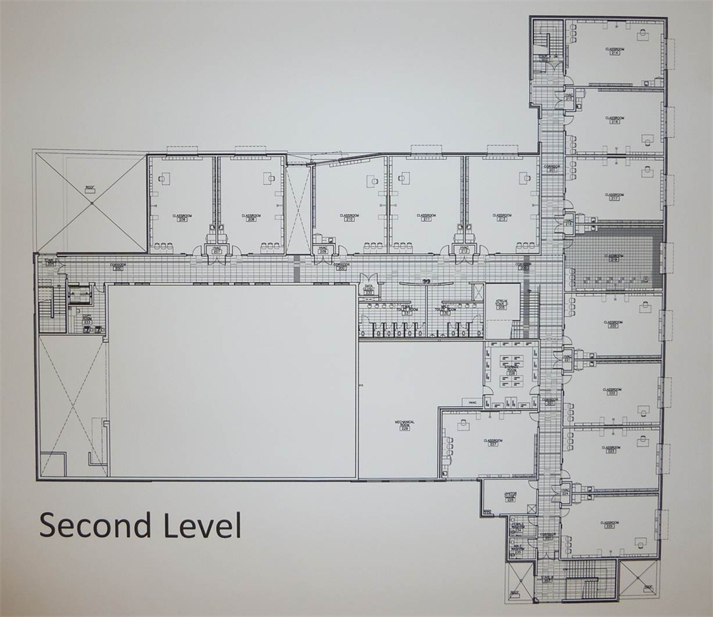 new school design and floor plans
